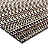 casa pura® Indoor- und Outdoor-Bodenbelag Asti | kunstvoll gewebt | als Teppich oder Läufer | 40 Größen (60x300cm)