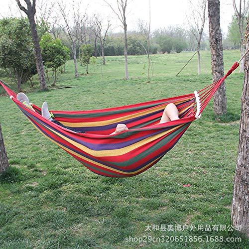 Canvas Hängematte Outdoor Sports Camp Single Parachute Stoffhängematte