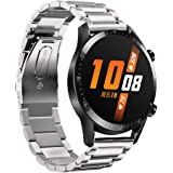 Shinesky Stainless Steel Quick Release Band WristStrap for Huawei Watch GT2 46mm