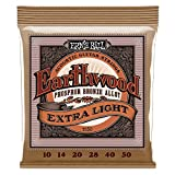 Cordes Guitare Acoustique Ernie Ball Earthwood Extra Bronze Phosphor - Jauge 10-50