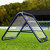 RapidFire Rebound Net - Spring Loaded Football Rebounder - Single or Double Sided