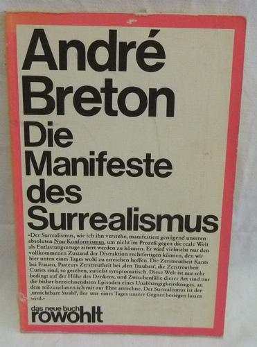 Die Manifeste des Surrealismus (5159 296).