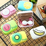 HOMIES INTERNATIONAL Brings Extremely Elegant And Useful Eye Care Hard And Soft Lens Case, Kit Box, Organizer, Lens Holder With Mirror. Shape: Square, Size: LARGE, Dimension: 9 * 6 * 3 Cms. Color: Kindly Note The Lens Case Print Will Be Sent Randomly