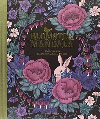 En blommande värld - målarbok