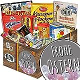 Frohe Ostern  Süßigkeiten Geschenkset L  mit Zetti Knusperflocken, Hallorenkugeln und mehr  süße Ostergeschenke tolle Geschenke zu Ostern tolle Ostergeschenke typische Geschenke zu Ostern witzige Geschenke zu Ostern