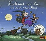 Für Hund und Katz ist auch noch Platz: Vierfarbiges Pappbilderbuch - Axel Scheffler