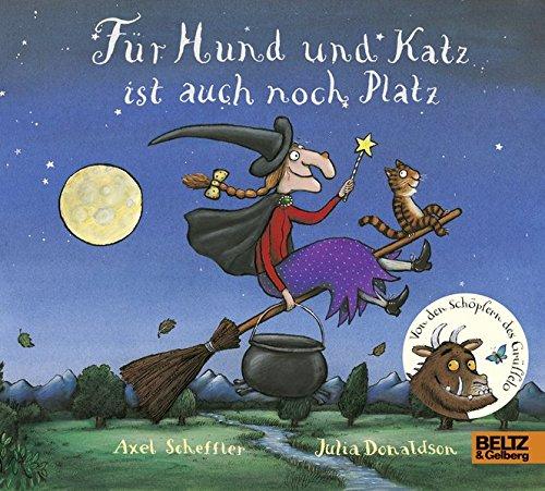 Buchseite und Rezensionen zu 'Für Hund und Katz ist auch noch Platz: Vierfarbiges Pappbilderbuch' von Axel Scheffler