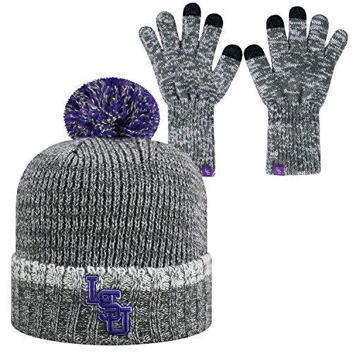 Top of the World Combo Frostbite Cuffed Knit Socke Hat Cap Beanie und Handschuhe, Multi, Combo -