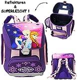 alles-meine.de GmbH Schulranzen -  Disney Frozen - die Eiskönigin  - Superleicht & ergonomisch +..