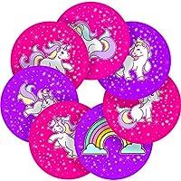 Graphic Flavour Adorable Unicorn Reward Sticker Labels, Children, Parents, Teachers