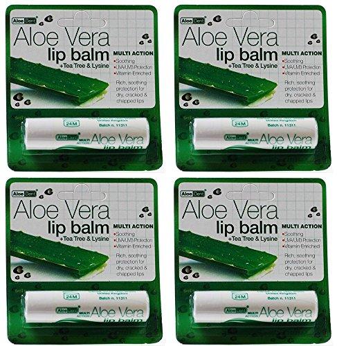 Aloe Vera Lip Balm - 4ml