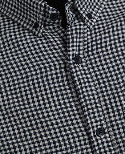JACK & JONES Herren Kurzarm Langarm Hemd Trachtenhemd jjcoFIX jcoTIM jorJOHAN Kariert Slim Fit Weiß (Cloud Dancer Fit:SLIM jorJOHAN LS)