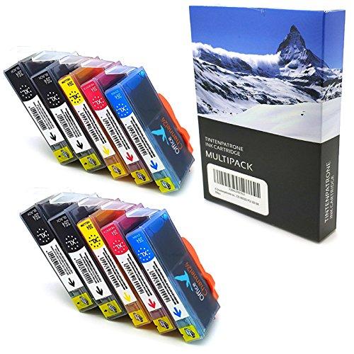 10 x OfficeChannel24 PATRONEN MIT CHIP kompatibel zu HP 364XL für HP Photosmart 5520 5522 5524 5525 5510 5514 5515 6510 HP DESKJET 3070A 3520 3522 3524 OFFICEJET 4620 4622