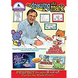 Drawing With Mark: Day With The Dinosaurs / Reach