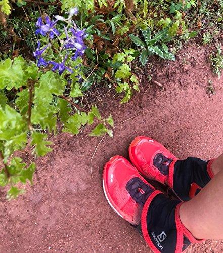 Salomon Trail Gaiters High 1 Par de Polainas L Altas Unisex Adulto Negro