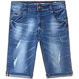 BEZLIT Jungen Destroyed Capri Jeans Shorts Kinder Strech Kurze Hose 22172 Größe 104