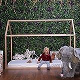 Estructura cama Casa 90 x 200 cm (sin pintura) CHILDHOME