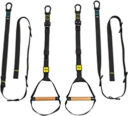 TRX Training - TRX Ultimate Pull up/Dip Trainer, Ideal for Body Weight Training to Build Strength, Mobility, and Endurance. Perfect for Gymnastic Ring Inspired Exercises and Cross Fit Style Workouts