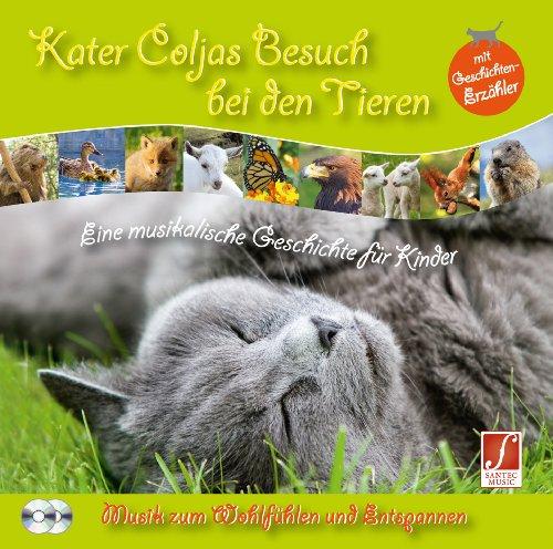 Kater Coljas Besuch bei den Tieren: Musik für Kinder mit Geschichtenerzähler (CD2 Instrumental-Version)