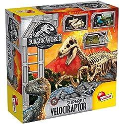 Lisciani Giochi–Jurassic World Super Kit Velociraptor, multicolor, 68227