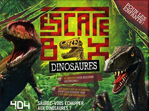 Escape Box Dinosaures par Frédéric DORNE