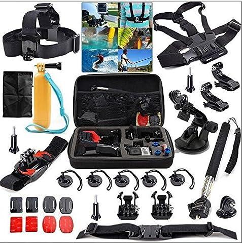 Revesun 31-in-1?Kit d'accessoires Bundle Combo pour GoPro Hero 4/3?+/3/2/1?Appareil photo