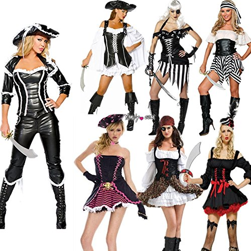 alloween-Kostüm Fluch der Karibik Kostüm-Party Kleidung weibliche Modelle zeigen Kleider , # 6 ()
