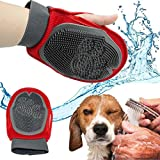 House of Quirk Pets Grooming Mitt Pet Brush(Color As Per Availability)