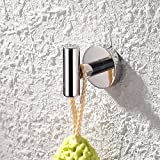 2-Pcs, Chrome: KES SUS 304 Stainless Steel Coat Hook Towel/Robe Clothes Hook