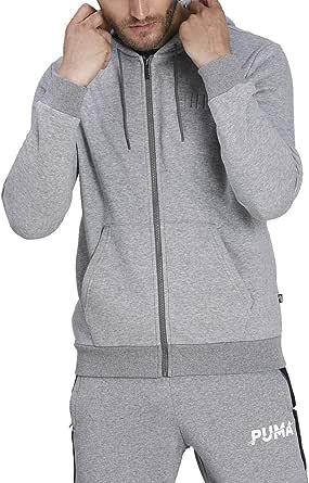 PUMA Modern Basics FZ Hoodie FL Pullover Uomo