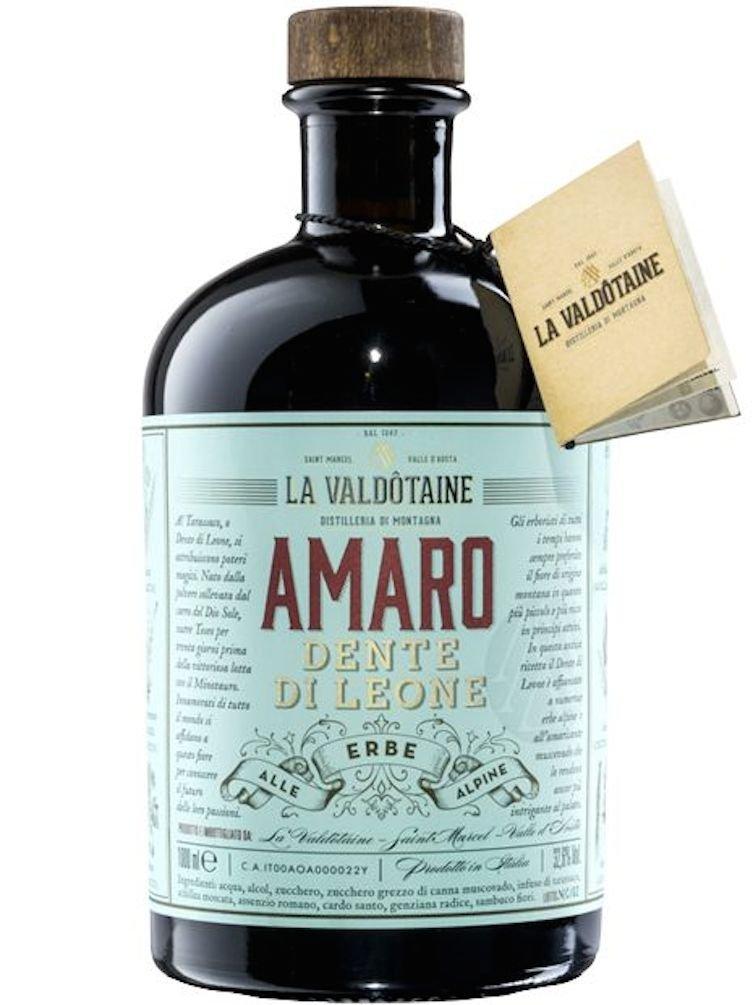 Amaro alle Erbe Alpine Dente di Leone La Valdôtaine 1 Lt