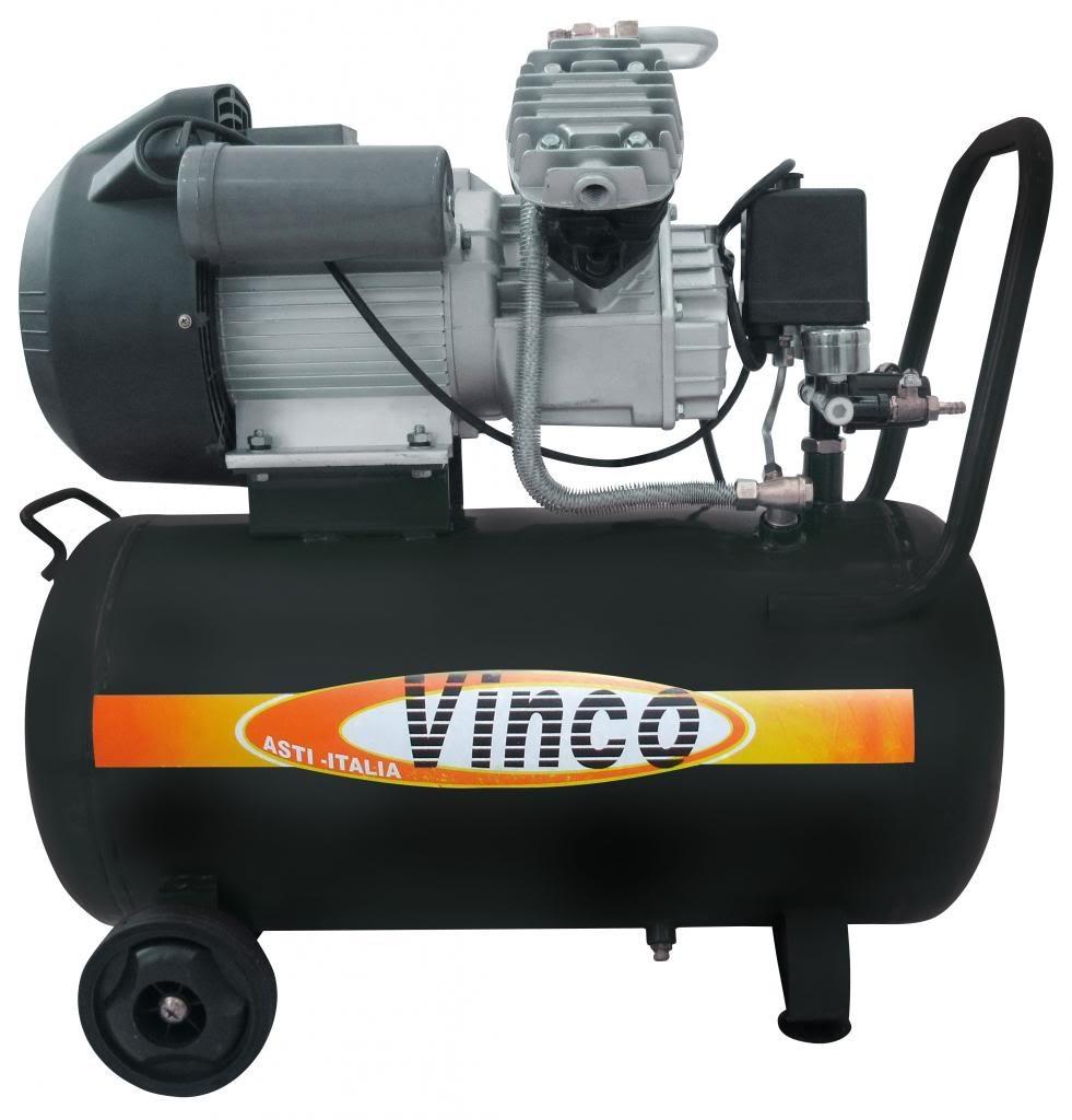 COMPRESSORE ARIA VINCO MDM50 3HP LT 50 LUBRIFICATO