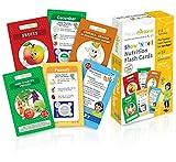 Der Führer zur gesunden Ernährung für die Kinder in Spanisch– E-Z Ernährungskartenspiel–Set von 52Karten –Lernt die Kinder gut zu essen, Gewohnheiten und die Sprache–Karteikarten helfen Kleinkinder und Kinder zu lernen und dabei beim Spaß zu haben.