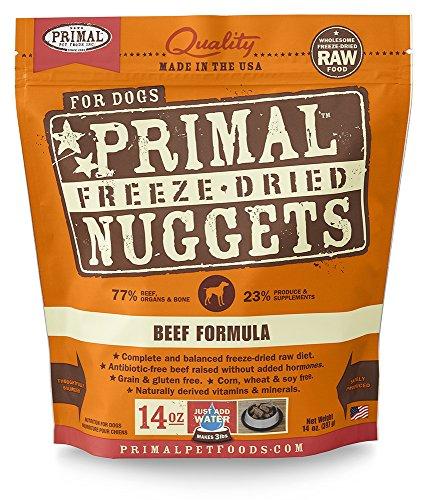 Primal Pet Foods Gefriergetrockneter Hunde Rindfleisch Formel 14oz