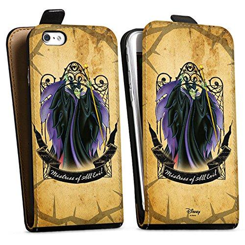 Apple iPhone X Silikon Hülle Case Schutzhülle Disney Dornröschen Merchandise Geschenke Downflip Tasche schwarz