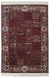 Historia-Teppich 7002 80 x 150 cm, 100 % PP with Cotton Backing, Gewicht circa 1700 g/m², Florhöhe circa 5 mm, rot