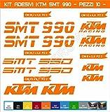 Aufkleber stickers KTM SMT 990 -Motorrad- Cod. 0623 (Arancione cod. 035)