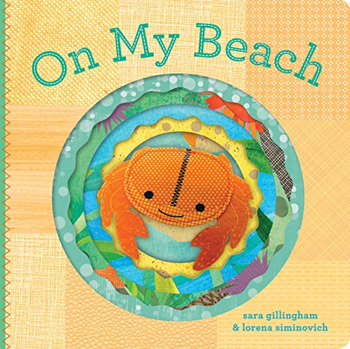 On My Beach: Finger Puppet Book (Felt Finger Puppet Board Books)