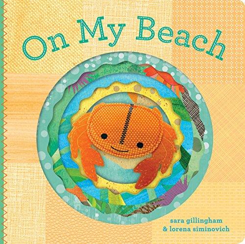 On My Beach: (Felt Finger Puppet Board Books)