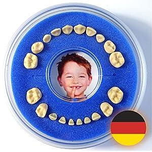 Firsty Milchzahndose – Blau, Jungen Round – Inklusive Logbüchlein Deutsch und Hurra-Aufkleber – ABF Schneller Versand
