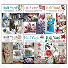 Debbie Shore Half Yard Collection 6 Books Set (Half Yard Gifts, Half Yard Christmas, Half Yard Heaven, Half Yard Kids, Half Yard Vintage, Half Yard Home)