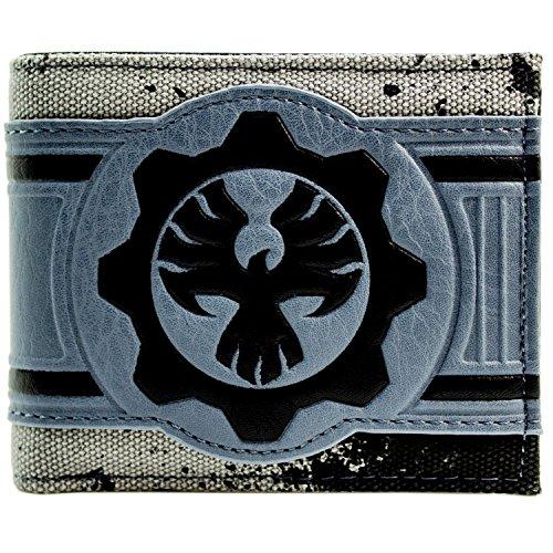 Gears of War Phoenix Omen Symbol Grau Portemonnaie (Kostüm Cosplay Phoenix)