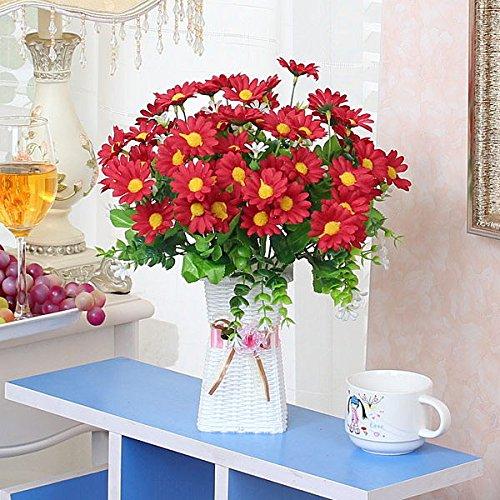 HL-HZH-Topf mit BlumenKunststoff Blumen Blumen Innen dekorative Möbel Kleine Topfpflanzen Simulation Blumenstrauß, Ae -