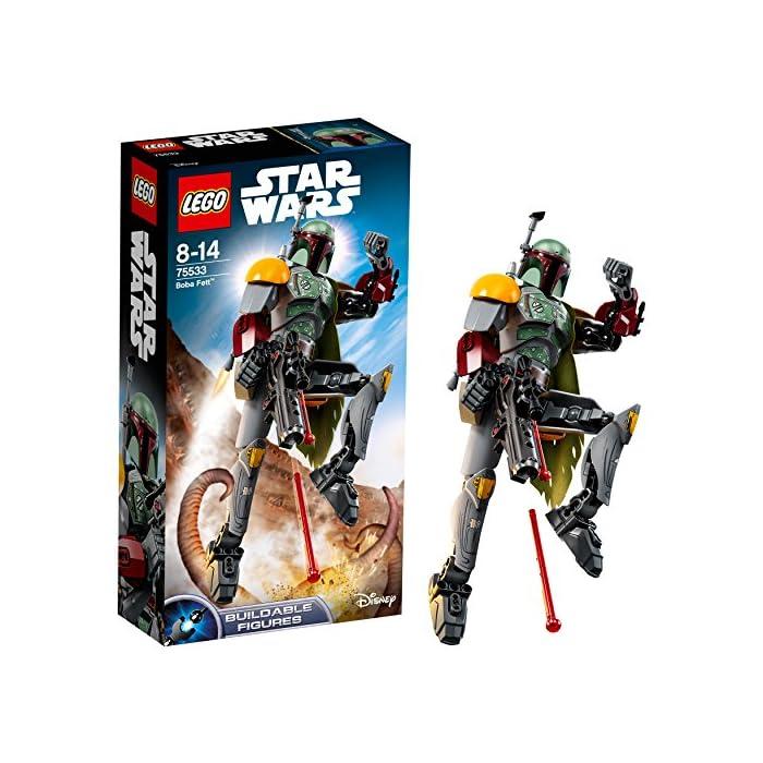 LEGO Star Wars 75533 - Boba Fett, Baubare Figur