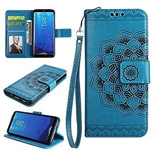 Cozy Hut Samsung Galaxy S8 Hülle,Samsung Galaxy S8 Rosa Leder Handyhülle, Samsung Galaxy S8 Hülle | Tasche | Handyhülle | Handytasche | Schutzhülle | Flip Cover | Book Case| Premium Leder | Diaman