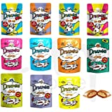 22 Packs of Mixed Dreamies, 14 Single Flavours and 8 Dreamies Mix Flavours