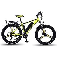 EggshellHome Elektrische Fahrräder Für Erwachsene, Herren-Mountainbike, Magnesium-Legierung Ebikes Fahrräder All Terrain…