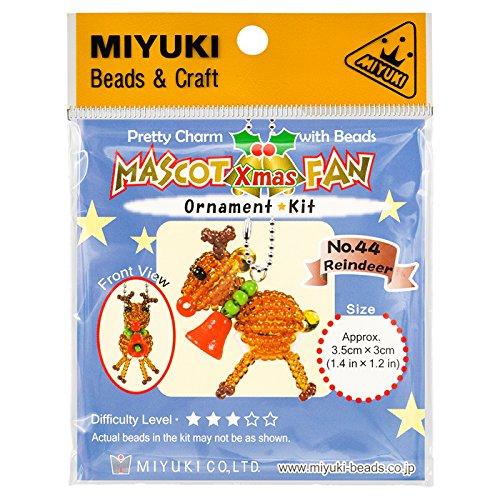 Miyuki Perlen Maskottchen Fan Kit   Nr. 44Weihnachten Rentier