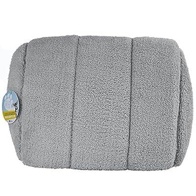 Me & My Pets Grey Fleece Igloo Pet Bed