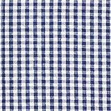 Fabulous Fabrics Seersucker kariert - Marineblau -